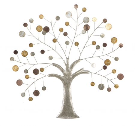 Decoratiune de perete TREE (cm) 88X2,5X880