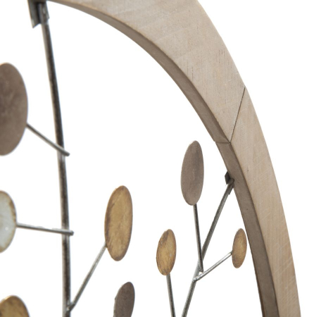 Decoratiune de perete TREE OF LIFE (cm) Ø 80X24