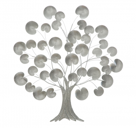 Decoratiune de perete TREE OF LIFE  SILVER (cm) 87,5X3,5X930
