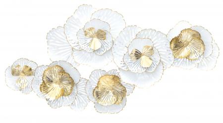 Decoratiune de perete WHITE -A- (cm) 148,5X11X781