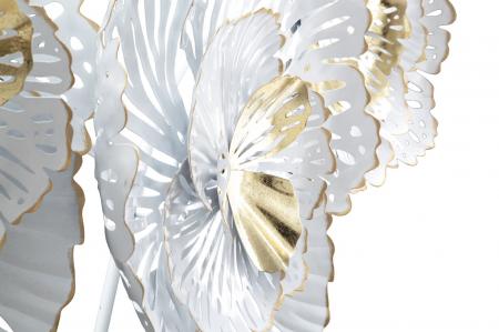 Decoratiune de perete WHITE -A- (cm) 148,5X11X783
