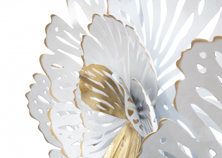 Decoratiune de perete WHITE -A- (cm) 148,5X11X784