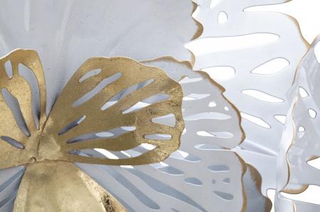 Decoratiune de perete WHITE -A- (cm) 148,5X11X785