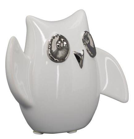 Decoratiune FUNNY OWL -A- (cm) 13X5,5X10,5 1