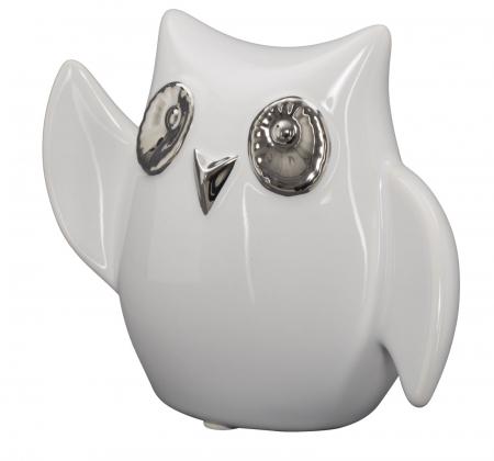Decoratiune FUNNY OWL -A- (cm) 13X5,5X10,5 2
