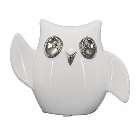 Decoratiune FUNNY OWL -A- (cm) 13X5,5X10,5 0