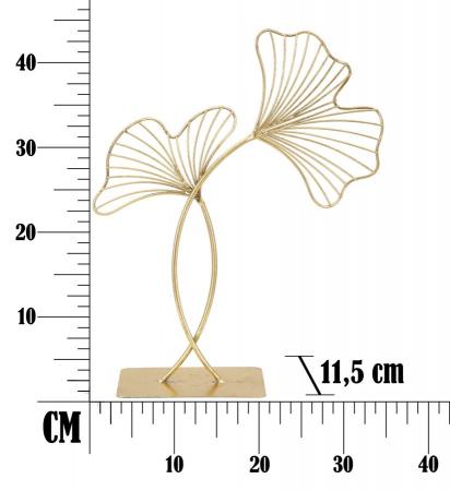 Decoratiune LEAF GLAM (cm) 35X11,5X448