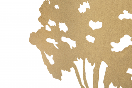 Decoratiune LEAF TREE PLAN CM 43,5X8X41,5 , Mauro Ferretti [3]