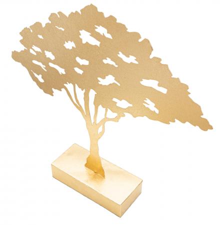 Decoratiune LEAF TREE PLAN CM 43,5X8X41,5 , Mauro Ferretti [2]