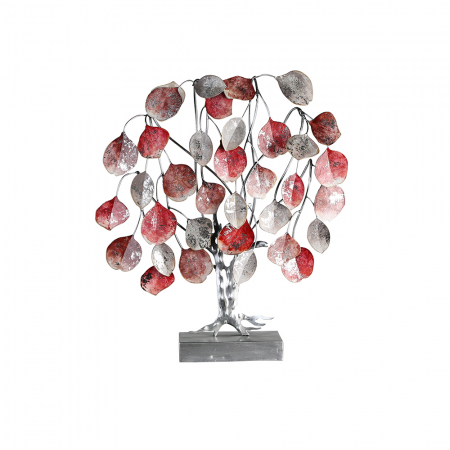 Decoratiune LOVE TREE, metal, 51x13x45 cm0