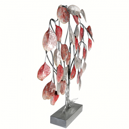 Decoratiune LOVE TREE, metal, 51x13x45 cm2