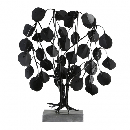 Decoratiune LOVE TREE, metal, 51x13x45 cm3