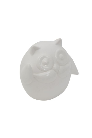 Decoratiune OWL HELLO (cm) 9,5X6,5X8,5 1