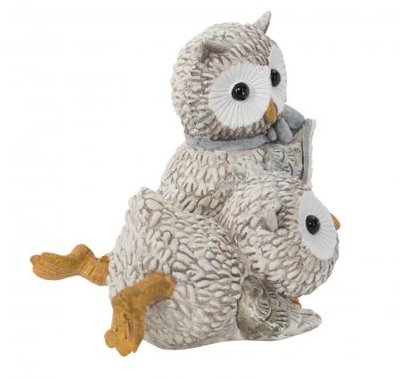 Decoratiune OWL KEN COUPLE (cm) 10,5X7X8,52