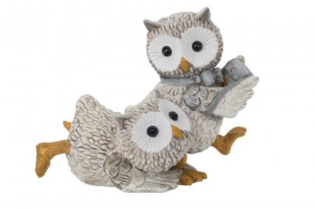 Decoratiune OWL KEN COUPLE (cm) 10,5X7X8,50