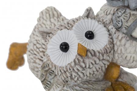 Decoratiune OWL KEN COUPLE (cm) 10,5X7X8,53