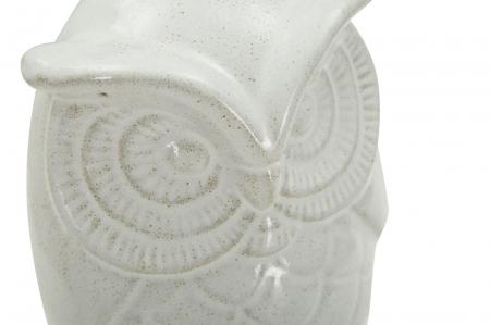 Decoratiune OWL SAND B (cm) Ø 13,5X21 5