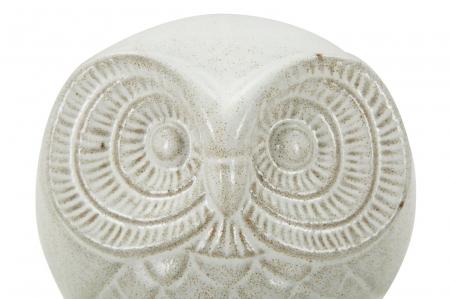 Decoratiune OWL SAND B (cm) Ø 15,5X12,5 4