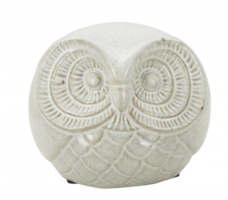 Decoratiune OWL SAND B (cm) Ø 15,5X12,5 0