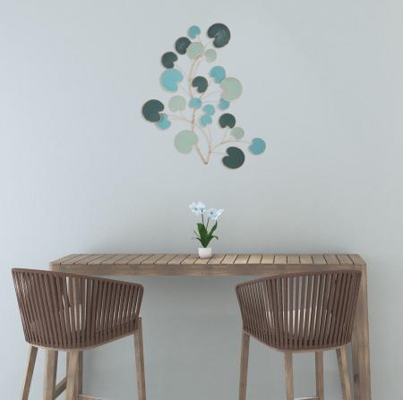 Decoratiune pentru perete APPLE, 75X2.5X85 cm, Mauro Ferretti0