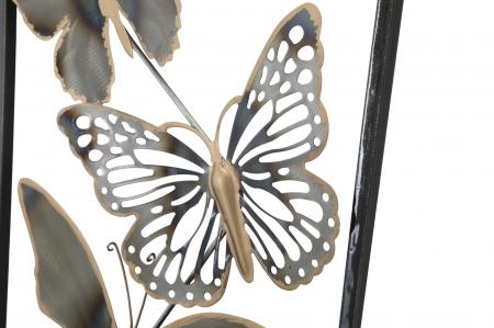 Decoratiune pentru perete BUTTERFLIES, 31X2.5X90 cm, Mauro Ferretti [3]