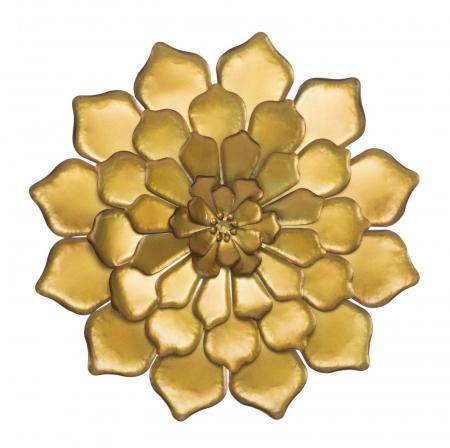 Decoratiune pentru perete FIORE GOLDY, 62.5X5.5 cm, Mauro Ferretti0