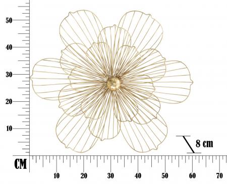 Decoratiune pentru perete FLOWERY STICK, 60X8X54 cm, Mauro Ferretti5