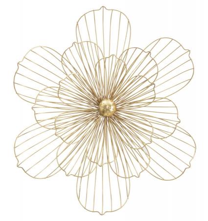 Decoratiune pentru perete FLOWERY STICK, 60X8X54 cm, Mauro Ferretti0