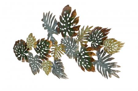 Decoratiune pentru perete FOGLIE, 129.50X6X67 cm, Mauro Ferretti2