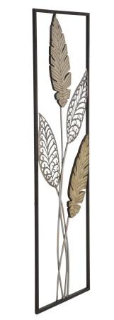 Decoratiune pentru perete FOGLIE 30.5X1.90X91 cm, Mauro Ferretti1