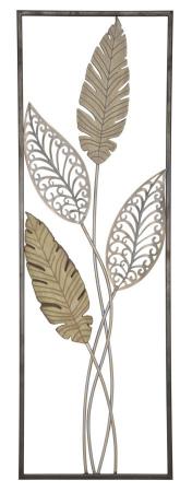 Decoratiune pentru perete FOGLIE 30.5X1.90X91 cm, Mauro Ferretti0