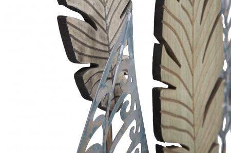 Decoratiune pentru perete FOGLIE 75X2.5X87 cm, Mauro Ferretti [5]