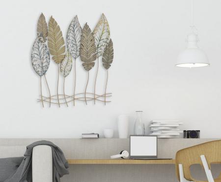 Decoratiune pentru perete FOGLIE 75X2.5X87 cm, Mauro Ferretti [6]