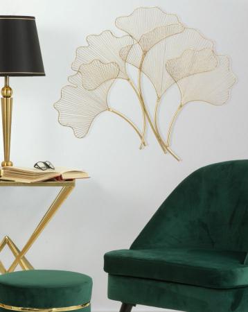 Decoratiune pentru perete GLAM LEAF, 79X5X68 cm, Mauro Ferretti [4]