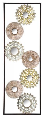 Decoratiune pentru perete GLISS, 31X2.5X90 cm, Mauro Ferretti0