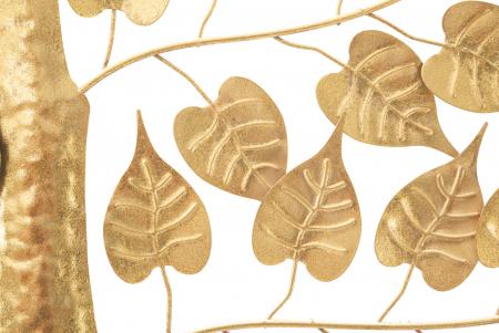 Decoratiune pentru perete GOXY GOLD CM 90X2,5X90, Mauro Ferretti [4]