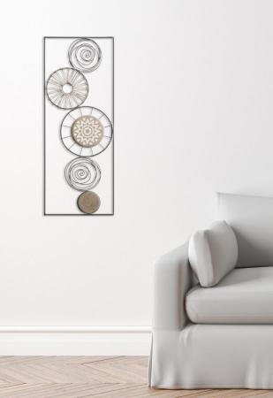 Decoratiune pentru perete MASAI, 35X2X90 cm, Mauro Ferretti6