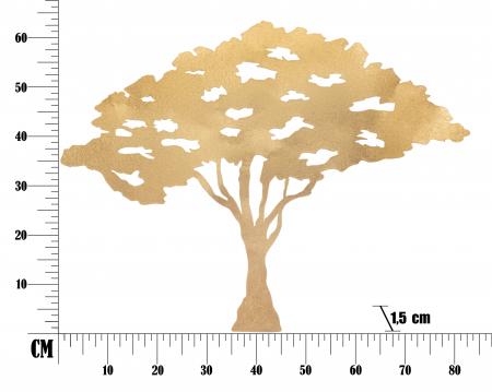 Decoratiune pentru perete  TREE PLAN CM 82X1,5X63, Mauro Ferretti [5]