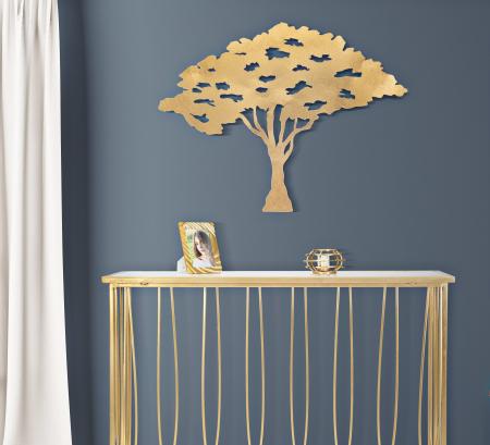 Decoratiune pentru perete  TREE PLAN CM 82X1,5X63, Mauro Ferretti [0]