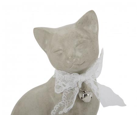 Decoratiune pisica CAT FAMILY(cm) 12,5X11,5X20,51