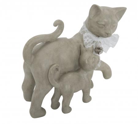 Decoratiune pisica CAT PUPPY (cm) 19X9,5X17,53