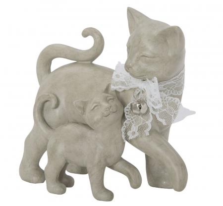 Decoratiune pisica CAT PUPPY (cm) 19X9,5X17,51