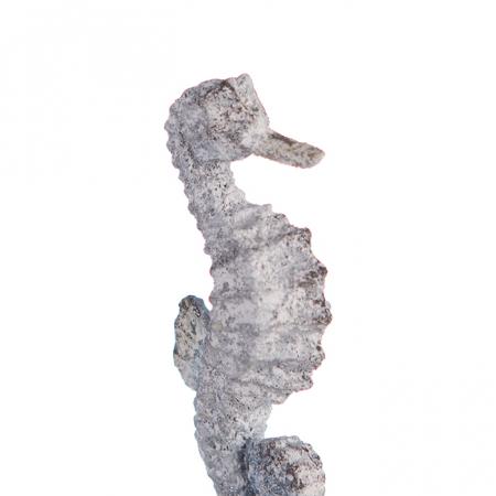Decoratiune SEAHORSE, metal, 22.5X10X5.5 cm2