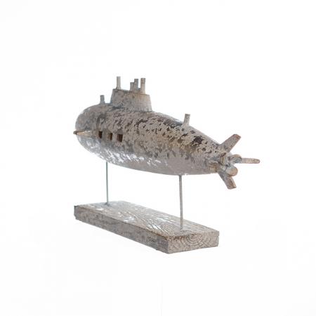 Decoratiune SUBMARINE, metal, 34.5X20X13.5 cm1