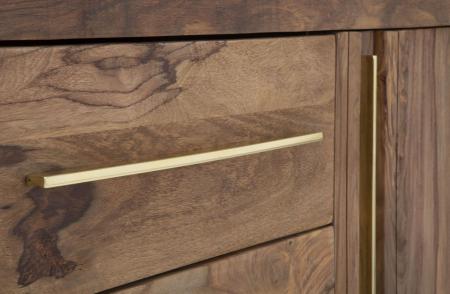 Dulap 2 usi si 3 sertare ELEGANT, lemn masiv sheesham, 175X45X80 cm, Mauro Ferretti4