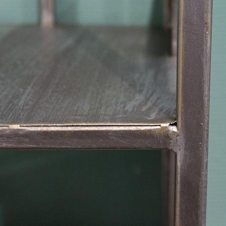 Dulap cu rafturi LEVEL, metal, 200x50x35 cm3