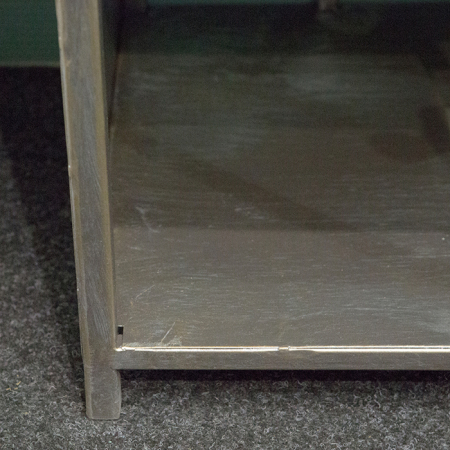 Dulap cu rafturi LEVEL, metal, 200x50x35 cm2