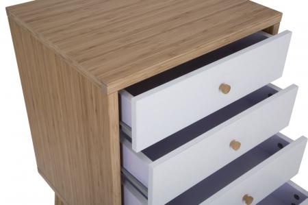 Dulap cu sertare TOKYO,bambus, 48X40X73 cm, Mauro Ferretti2