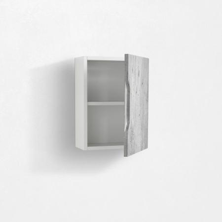 Dulap suspendat  BELSK, MDF/Melamina, Gri,  35x18x47.5 cm [1]