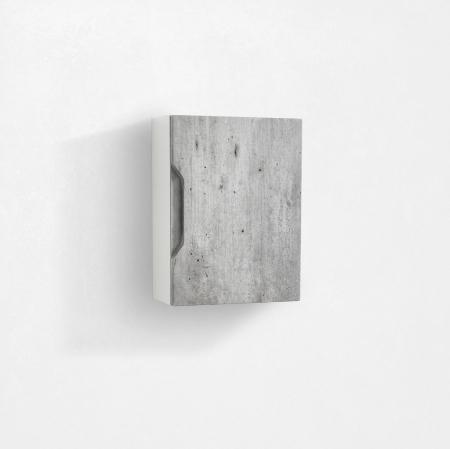 Dulap suspendat  BELSK, MDF/Melamina, Gri,  35x18x47.5 cm [0]
